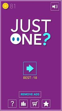 Just One? poster