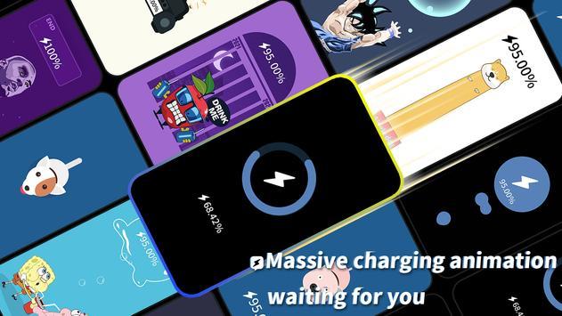 Pika! Charging show - charging animation imagem de tela 8