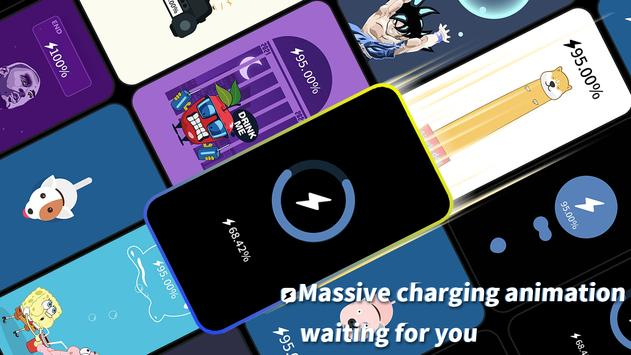 Pika! Charging show - charging animation imagem de tela 3