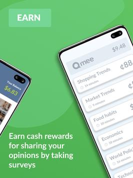 Qmee: Instant Cash for Surveys screenshot 5