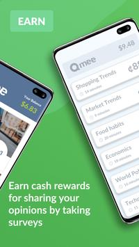 Qmee: Instant Cash for Surveys screenshot 1