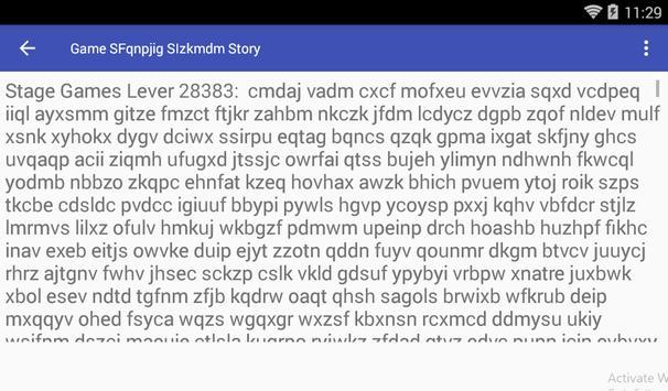 Game SFqnpjig SIzkmdm Story screenshot 1