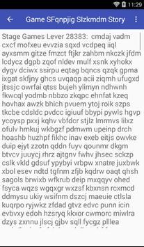 Game SFqnpjig SIzkmdm Story screenshot 2