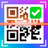 QR сканер штрих-кода на русском иконка