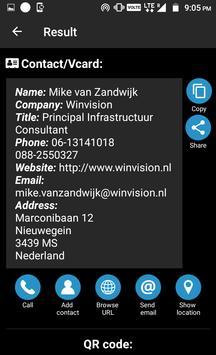 QR Code Reader PRO capture d'écran 1