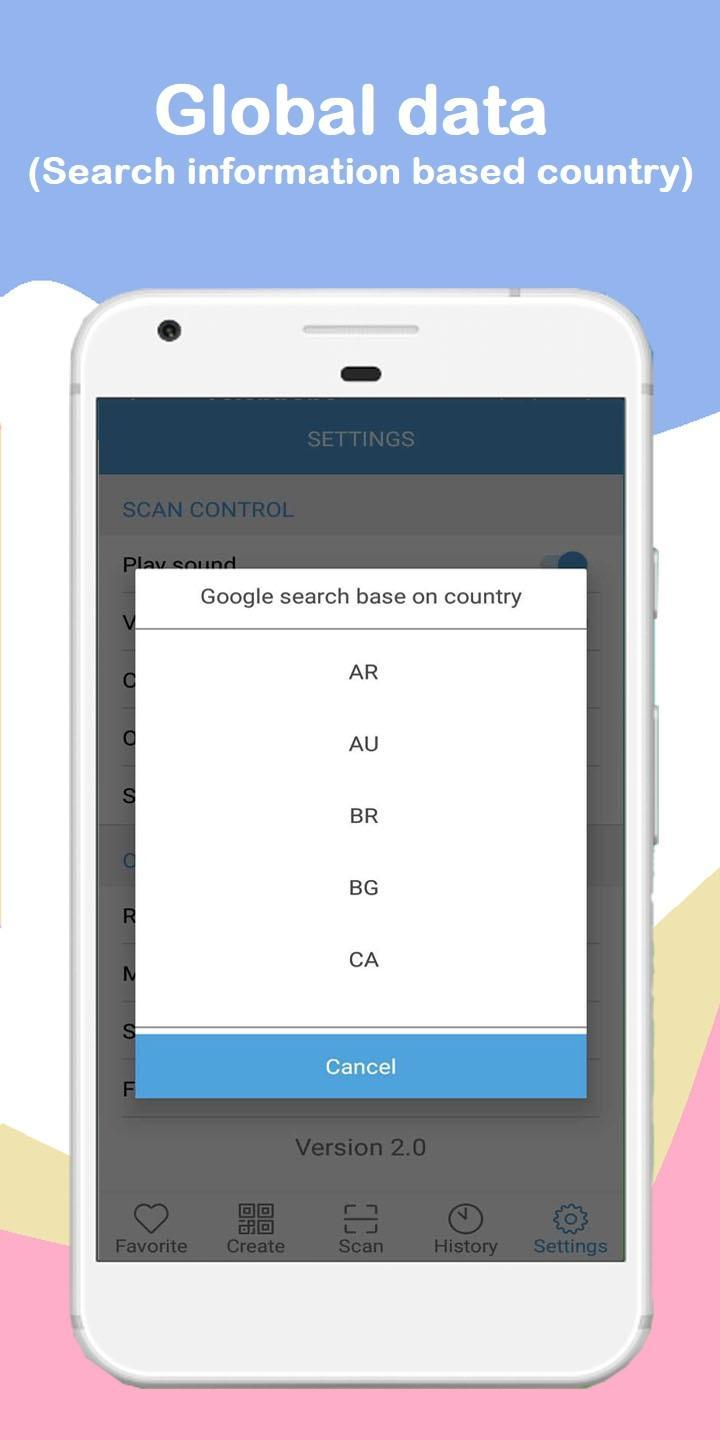 QR code Scanner - Barcode Reader - Create Qrcode for Android - APK
