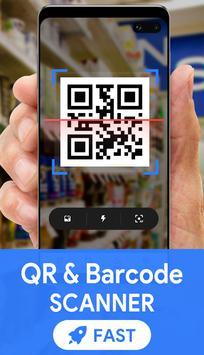 Poster QR & Barcode Scanner - QR Code Reader, QR Scanner