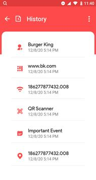 11 Schermata QR & Barcode Scanner - QR Code Reader, QR Scanner