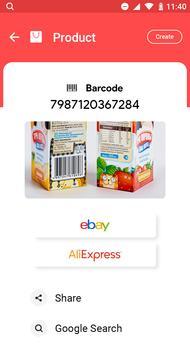 4 Schermata QR & Barcode Scanner - QR Code Reader, QR Scanner