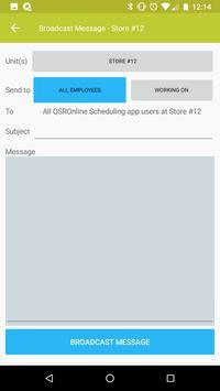 QSROnline Managing screenshot 7