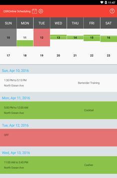 QSROnline Scheduling screenshot 8