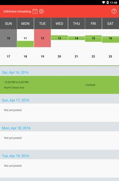 QSROnline Scheduling screenshot 9