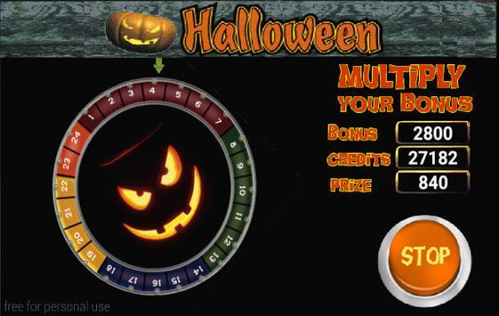 Slot Machine Halloween Lite screenshot 13