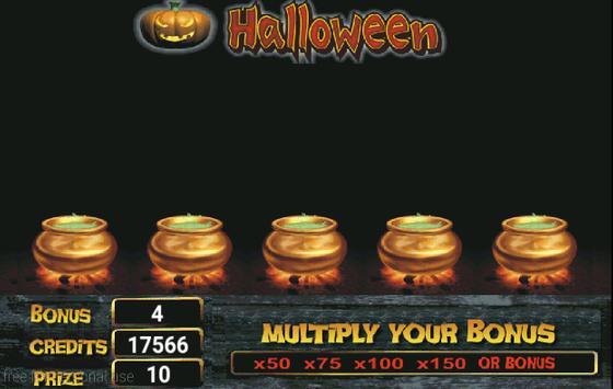 Slot Machine Halloween Lite screenshot 2