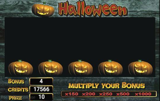 Slot Machine Halloween Lite screenshot 3