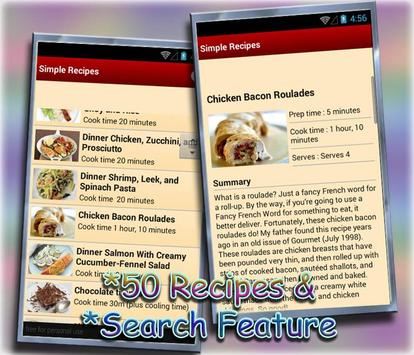 Simple and Easy Recipes screenshot 2