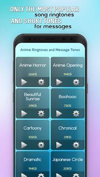 Anime Ringtones and Message Tones screenshot 1