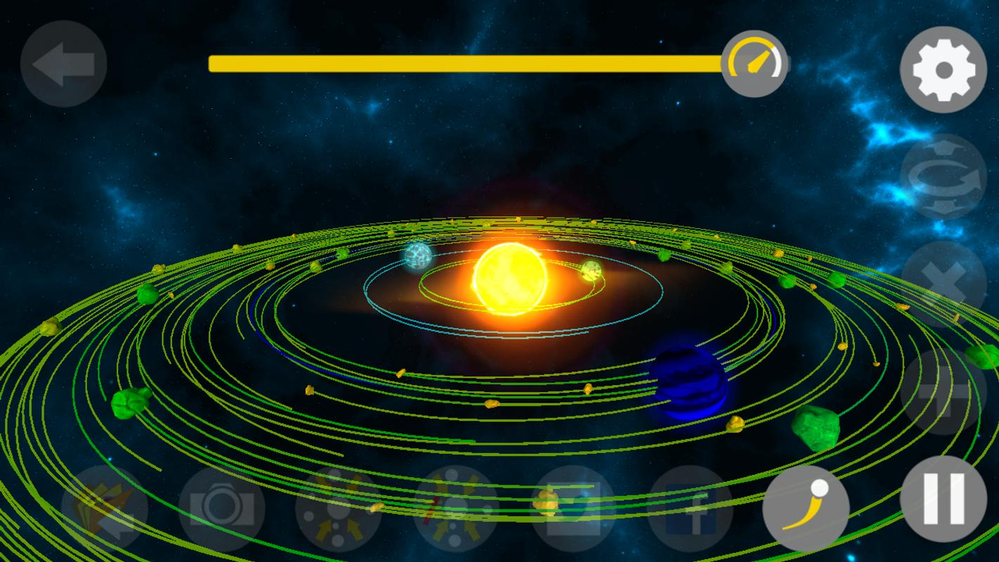 Galaxy space simulator 3d pro gravity orbits for android for Simulatore 3d