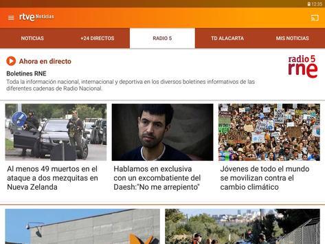 RTVE Noticias imagem de tela 10