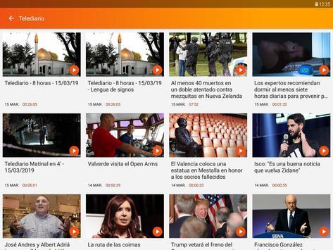 RTVE Noticias imagem de tela 20