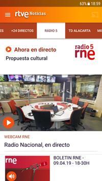 RTVE Noticias imagem de tela 1