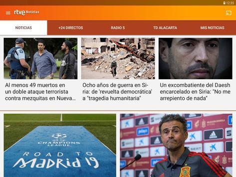 RTVE Noticias imagem de tela 17