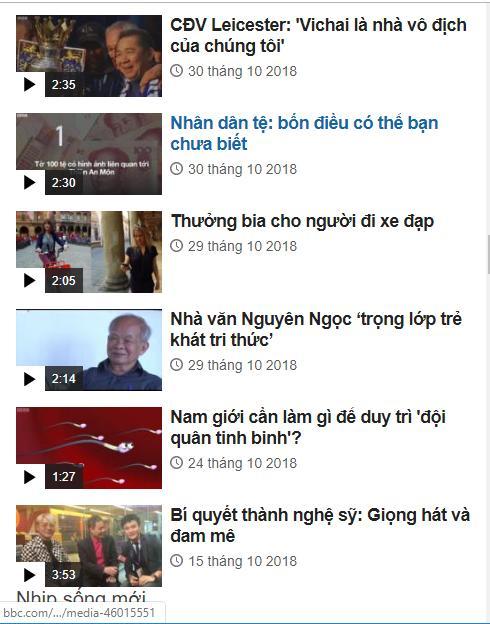 BBC Tiếng Việt poster