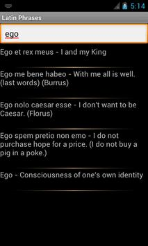 Latin Phrases(English version) screenshot 5
