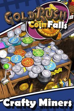 Poster Goldrush Coin Falls