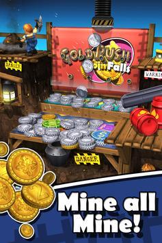 2 Schermata Goldrush Coin Falls