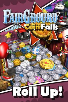 Fairground Coin Falls पोस्टर