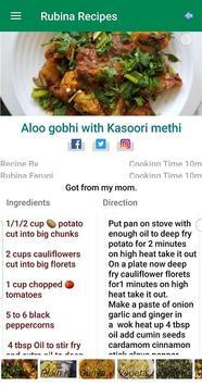 Rubina Recipes screenshot 4