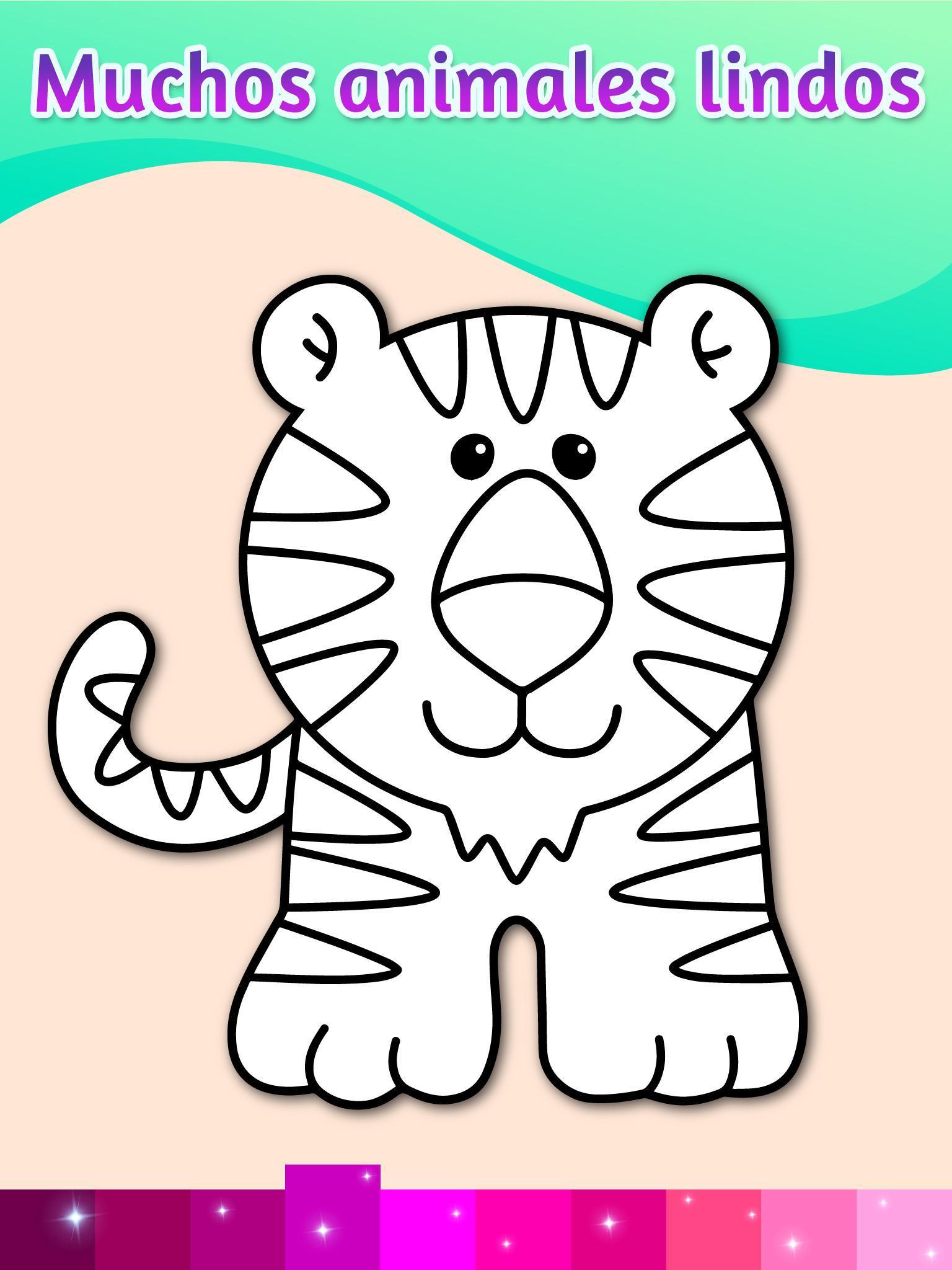 Dibujos Para Colorear Animacion Juegos Infantiles For Android