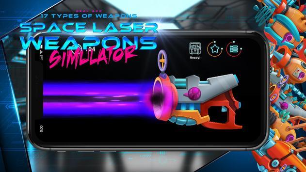 Space laser weapons blaster simulator screenshot 1