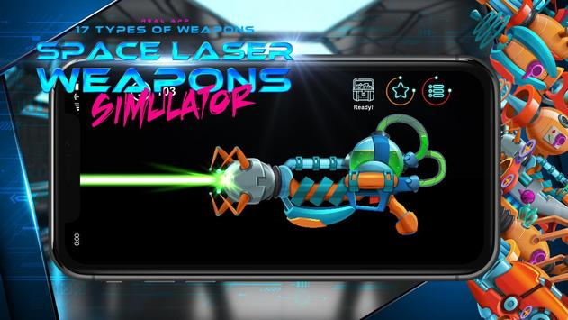Space laser weapons blaster simulator screenshot 2