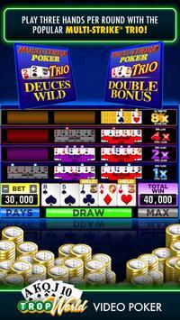 TropWorld Video Poker | Free Video Poker screenshot 4