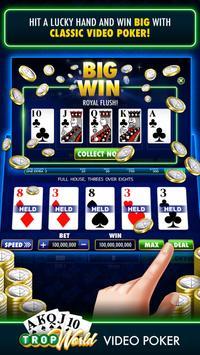TropWorld Video Poker | Free Video Poker screenshot 13