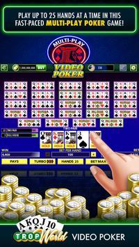 TropWorld Video Poker | Free Video Poker screenshot 2