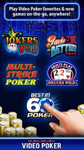 Ruby Seven Video Poker 1 Free Video Poker For Android Apk
