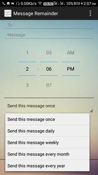 Message Reminder screenshot 1