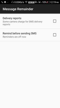 Message Reminder screenshot 5