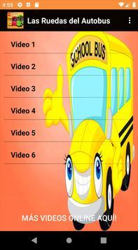 Las Ruedas del autobus Videos poster