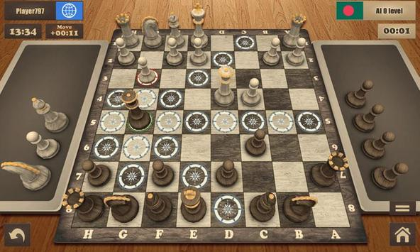 Real Chess Master Pro Free 3D poster