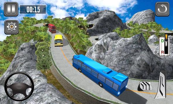 Bus Simulator Multilevel - Hill Station Game screenshot 1