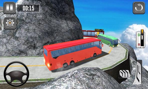 Bus Simulator Multilevel - Hill Station Game screenshot 2