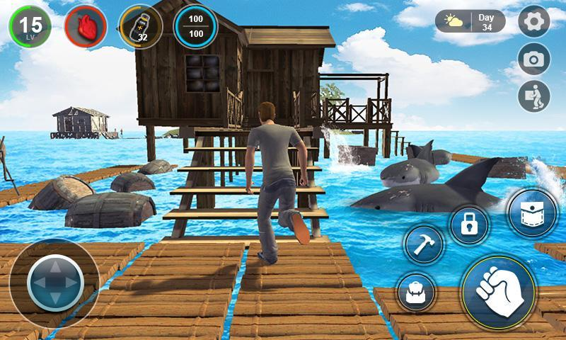 Raft Survival 3d Crafting In Ocean For Android Apk Download