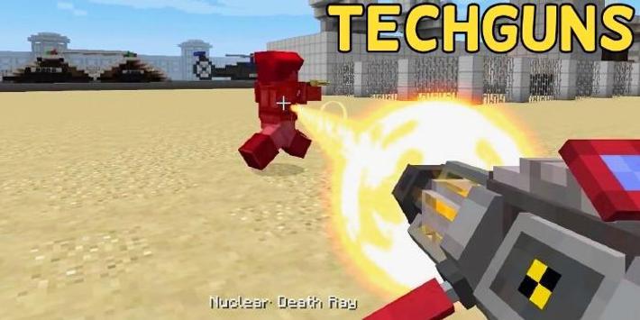 Techguns Mod for Minecraft poster