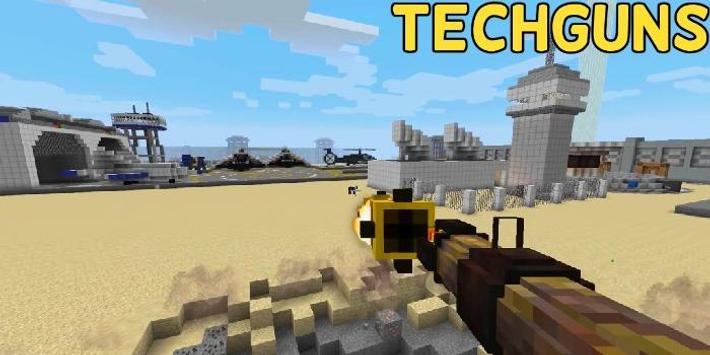 Techguns Mod for Minecraft screenshot 1