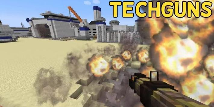 Techguns Mod for Minecraft screenshot 2