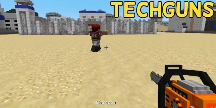 Techguns Mod for Minecraft screenshot 3